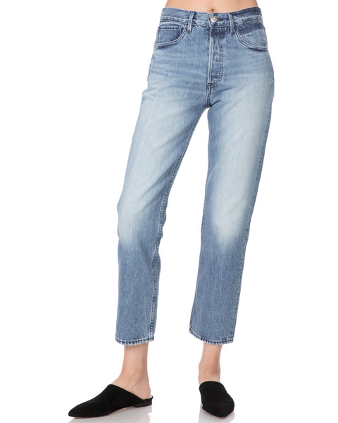 W3 Higher Ground Crop Straight Leg Jean in Aberdeen