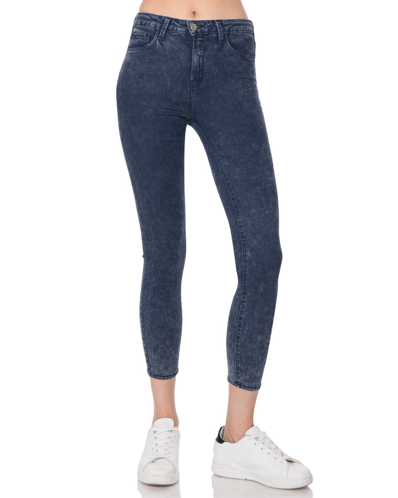 Margot High Rise Skinny-Dark Acid