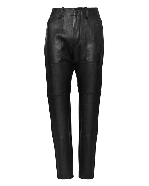 Army Trouser Leather Pant