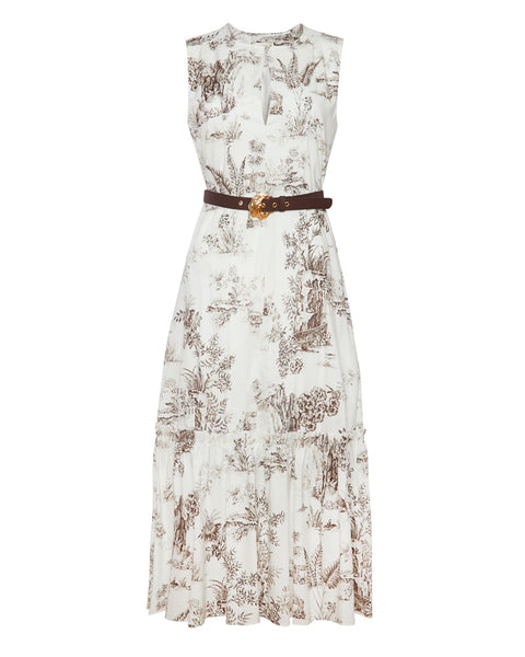 Filippa Belted Maxi Dress