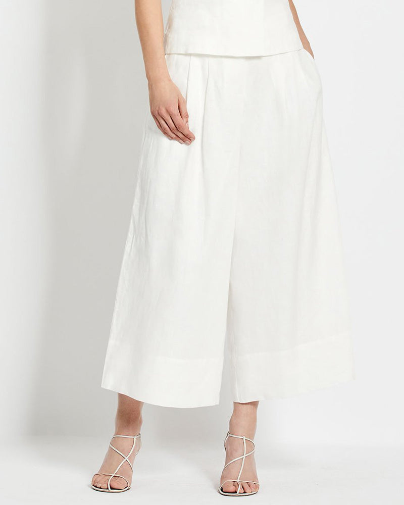 Varca Linen Wide Leg Pants