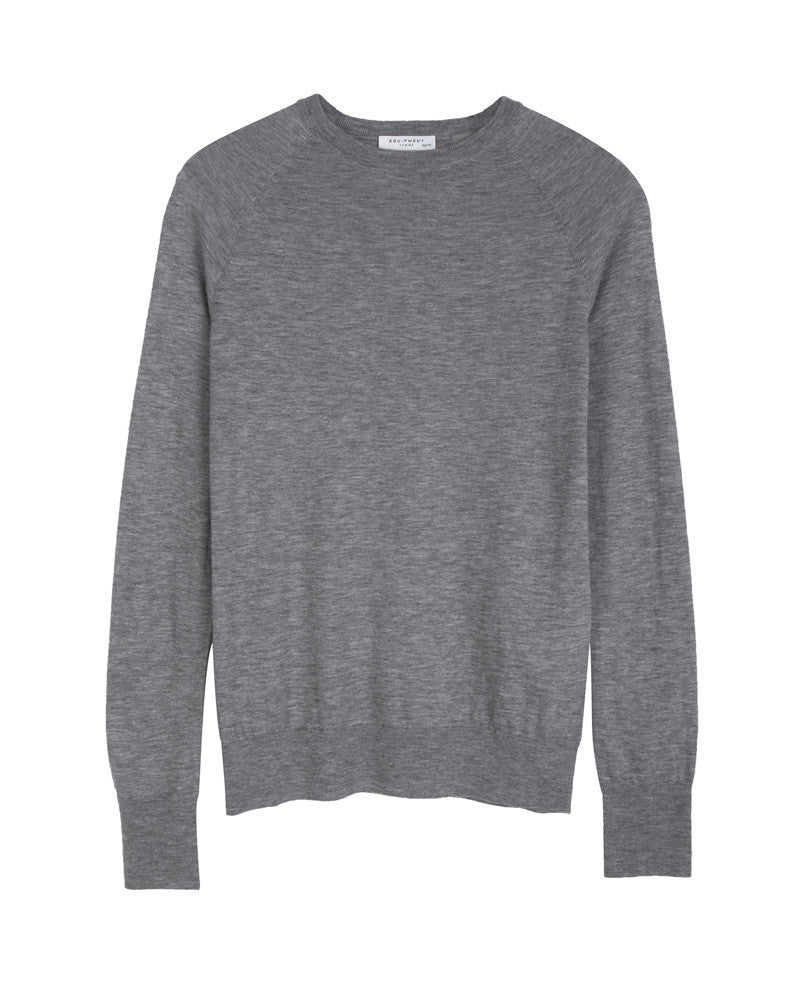 Sloane Wool Cashmere Crew Neck Sweater