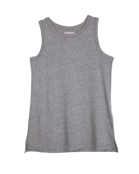 The Muscle Tee in Gray
