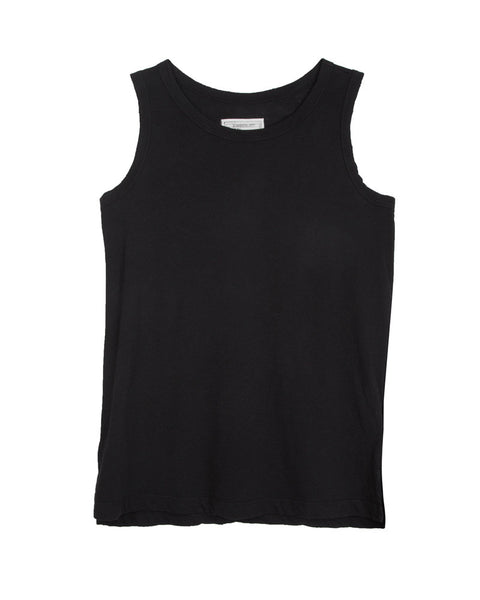 The Muscle Tee in Black Beauty