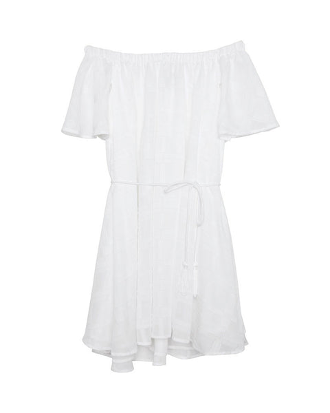Better Days Ruffle Dress