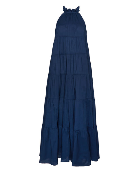 Julia Halter Neckline Maxi Dress