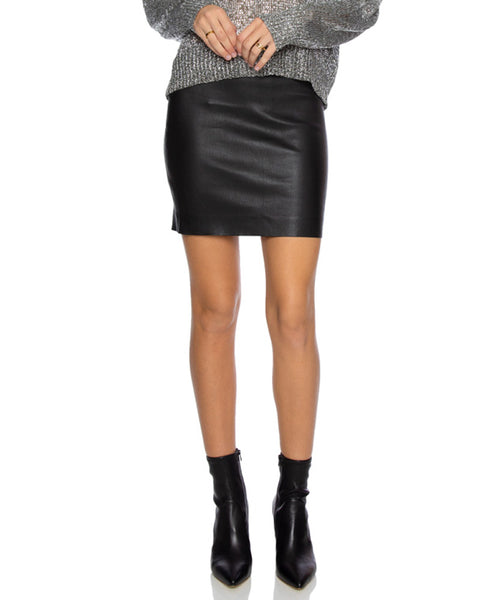 Leather Mini Skirt- EXTRA 10% OFF AT CHECKOUT