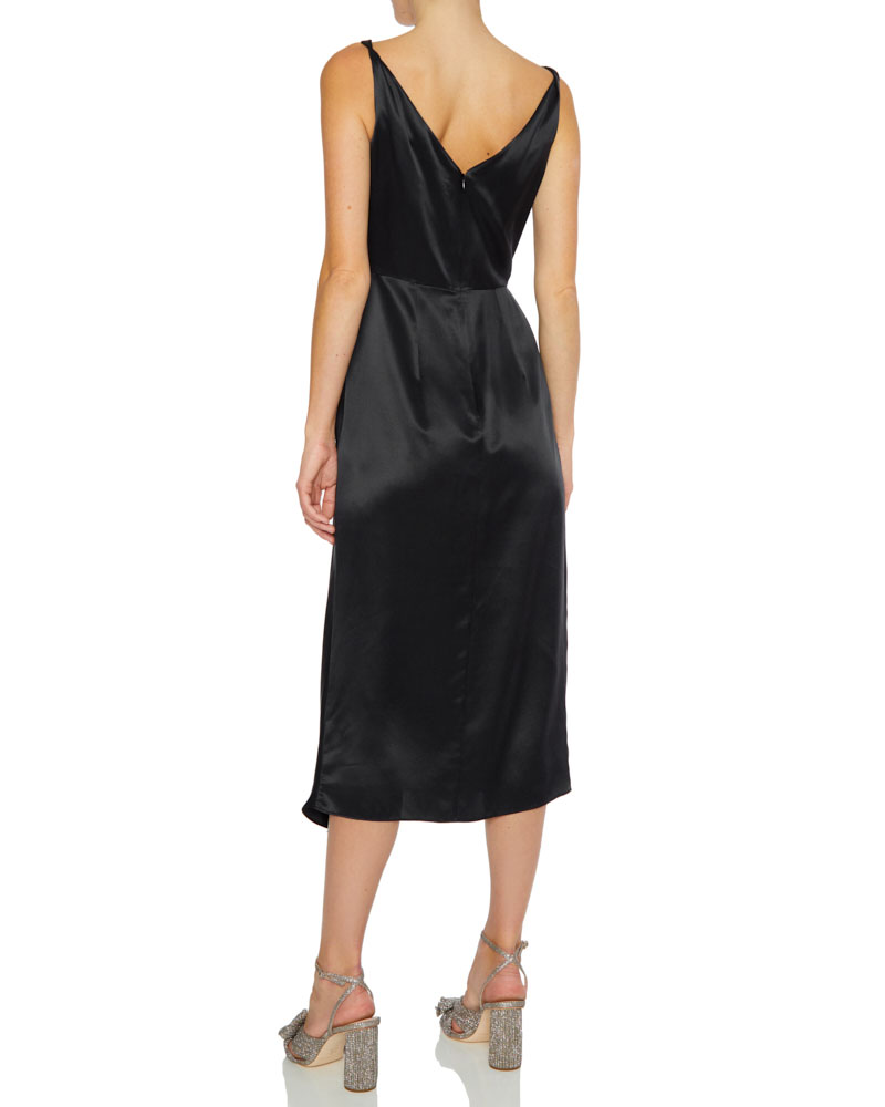Giselle Silk Midi Dress