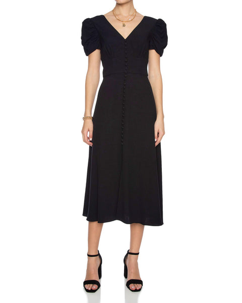 Margot Crepe Midi Dress