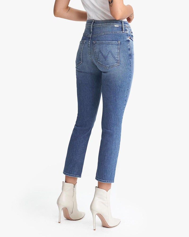 The Mid Rise Dazzler Ankle Jeans