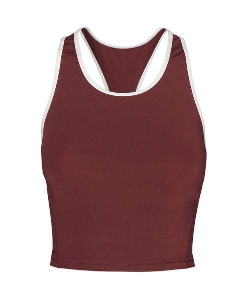 Berry Inge Crop Top