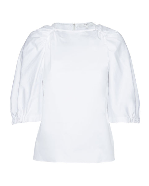 Eco Poplin Cape Top