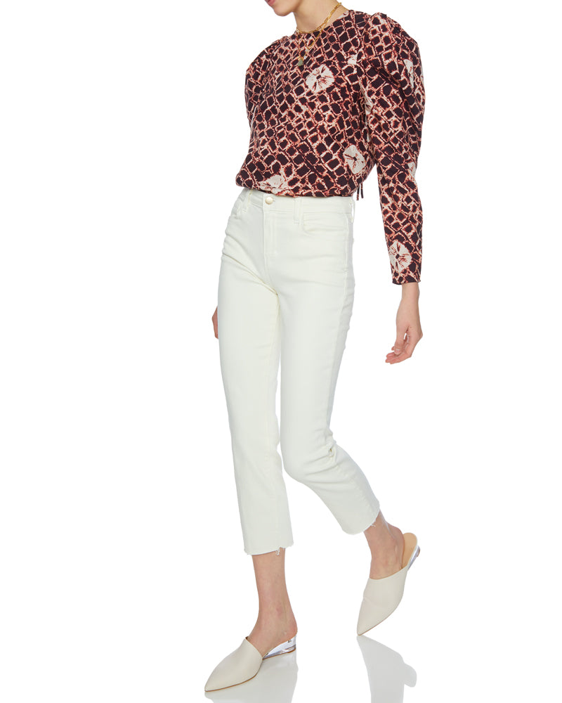 Ingrid Puff Shoulder Blouse