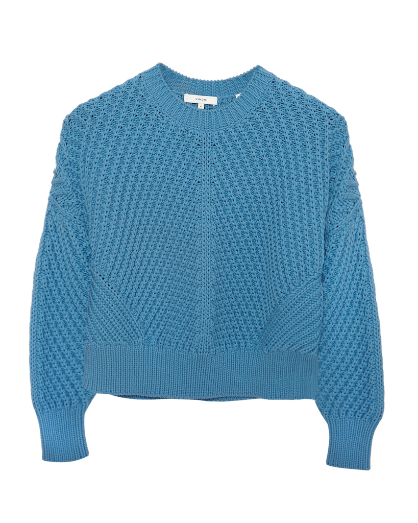 Directional Rib Sweater