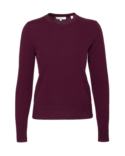 Overlay Crew Neck Sweater