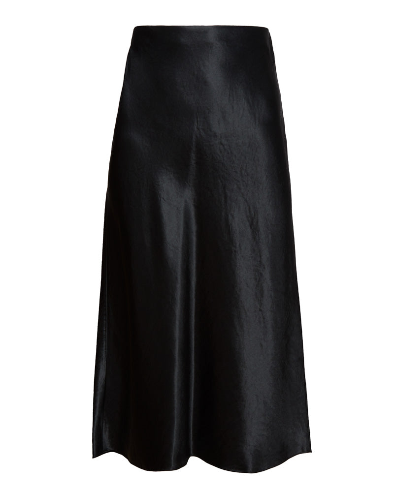 Slip Skirt in Black