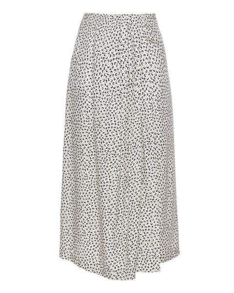 Star Dot Drape Skirt