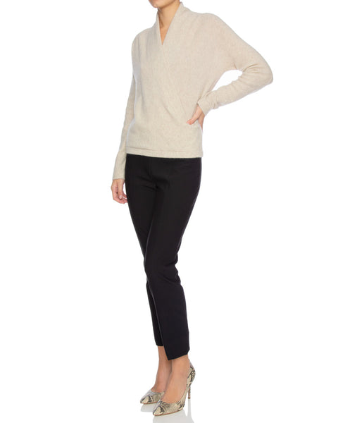 Wrap Front Pullover