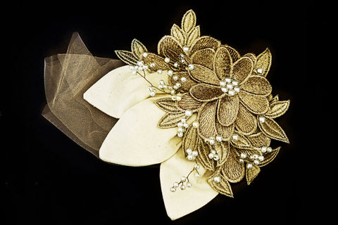 Rennes- Maid of Honor headpiece