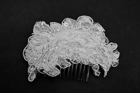 Erie- Bridal Hair Comb