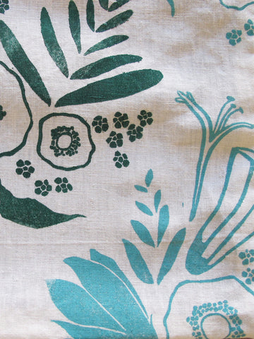 "20"" Pillow Cover in Mint ""Sprung"""