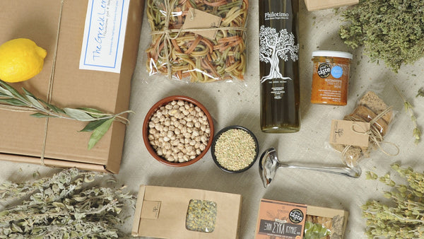 Vegan Apollo Box - Greek Ingredients delivered to your door