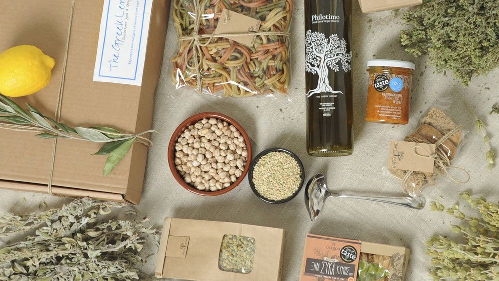 Classic Dionysus Box - Greek Ingredients delivered to your door