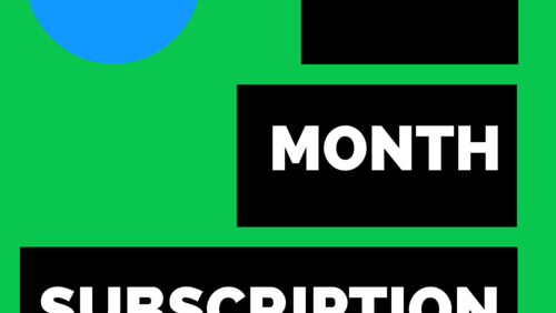 Three-Month Weekly Subscription