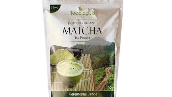 Matcha Green Tea Powder - 40g Organic Japanese Ceremonial Grade