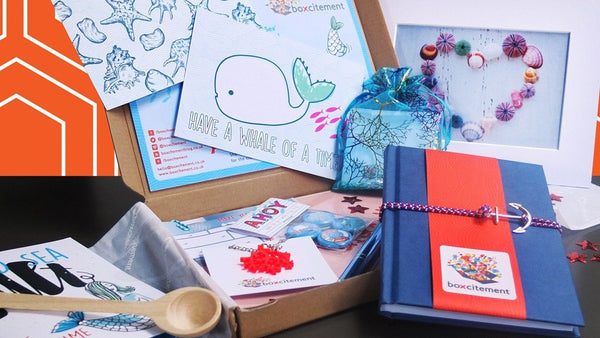 Boxcitement - the lovely monthly gift box