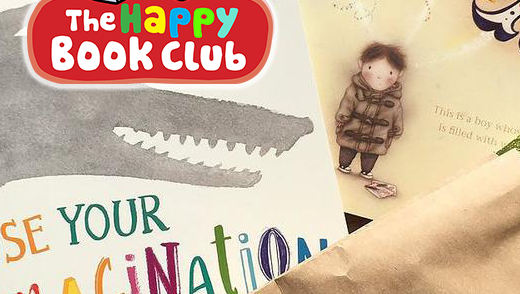 Happy Book Club - 3 Month Package for 2-4 year olds