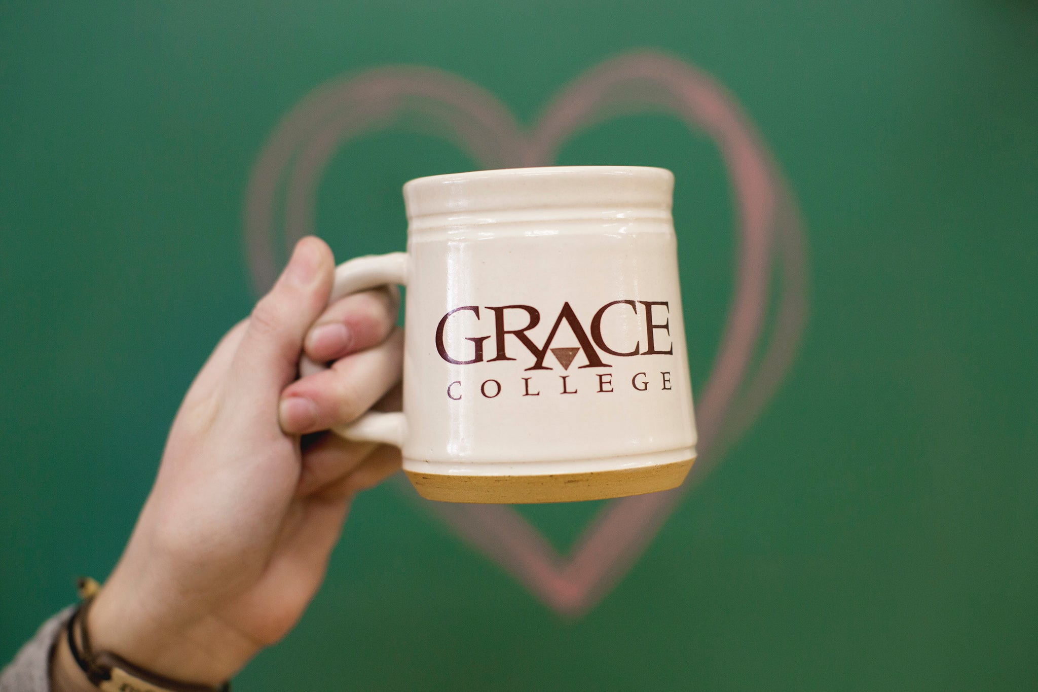 Grace College custom mug