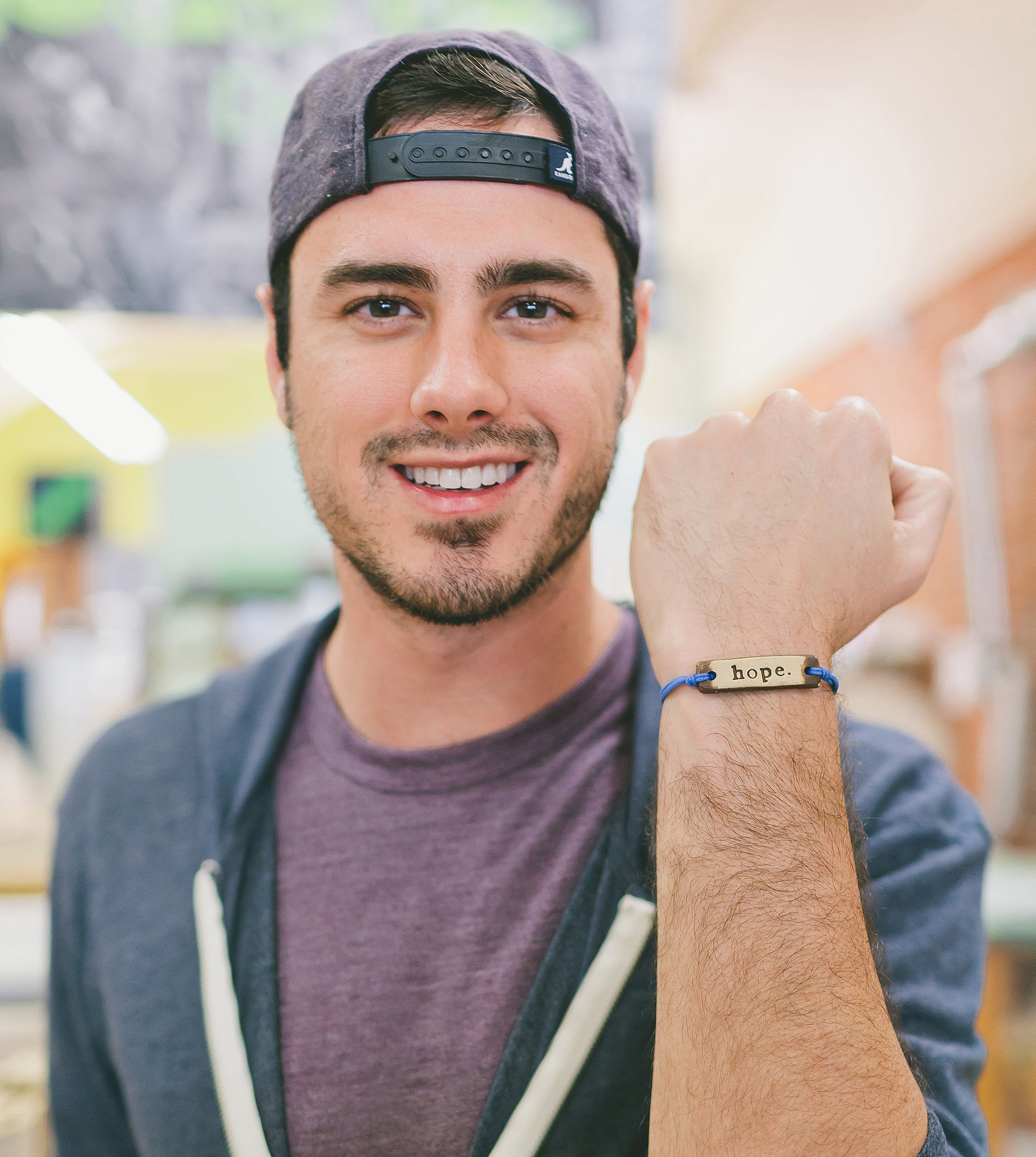 Ben Higgins hope bracelet