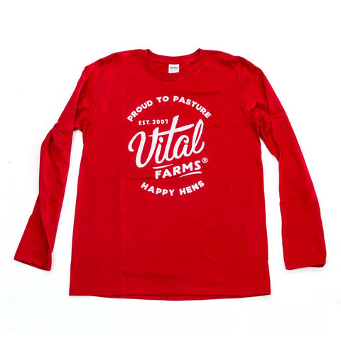 Vital Farms Proud to Pasture Long-sleeve tee