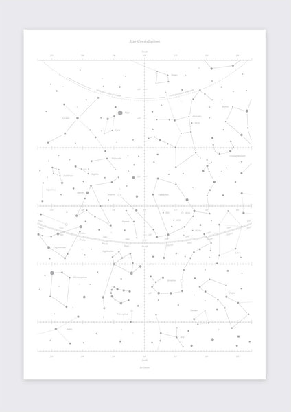STAR CONSTELLATIONS – SILVER