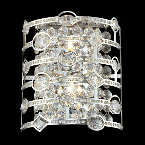 Mica Collection, 2-Light Wall Sconce