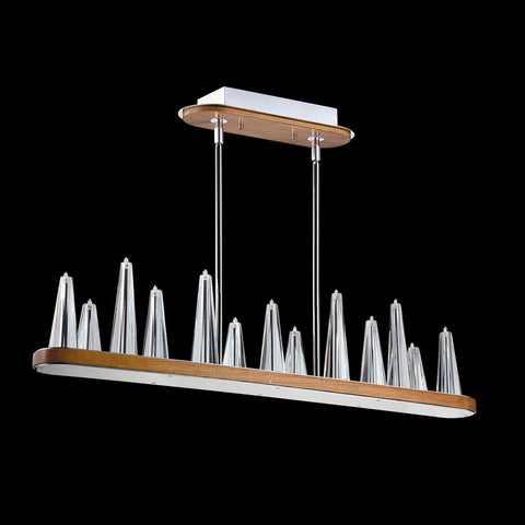Skyline Collection, 13-Light Rectangular Chandelier