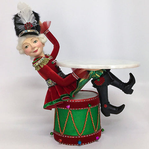 Nutcracker Sitting On Drum