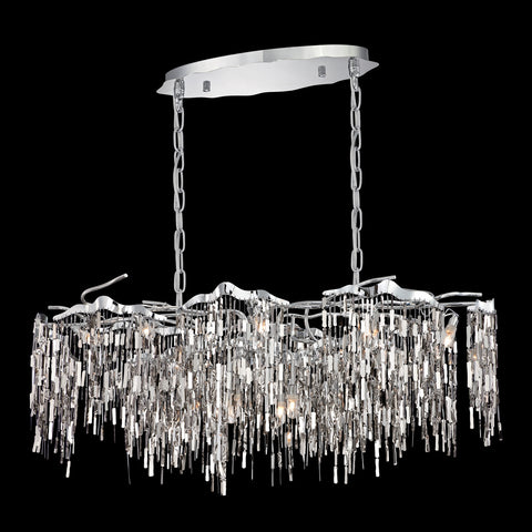 Elfassy Collection, 12-Light Linear Chandelier