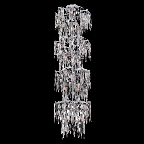 Elfassy Collection, Waterfall 24-Light Chandelier