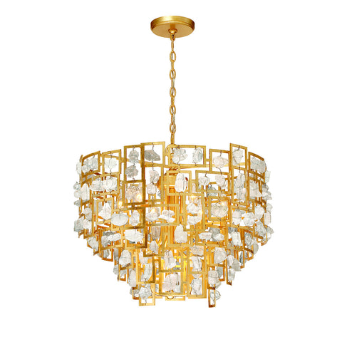 Elrose 9-Light Chandelier
