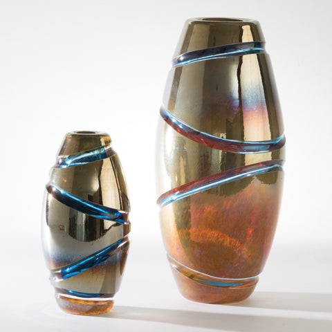 Cut Vases - Blue