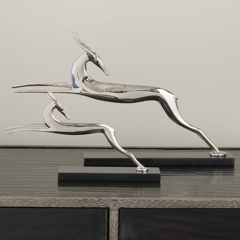 Nickel Deco Deer
