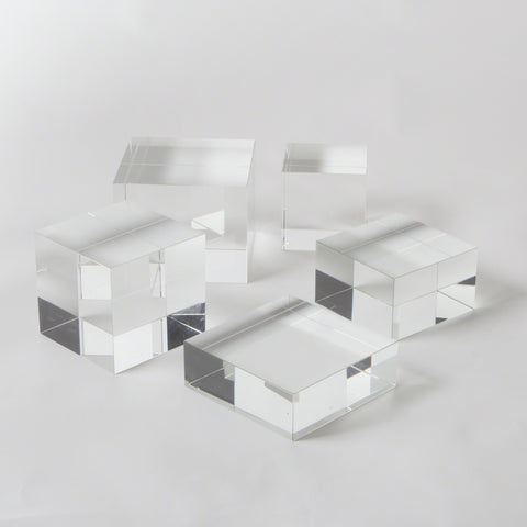Crystal Cube Risers - Various Sizes