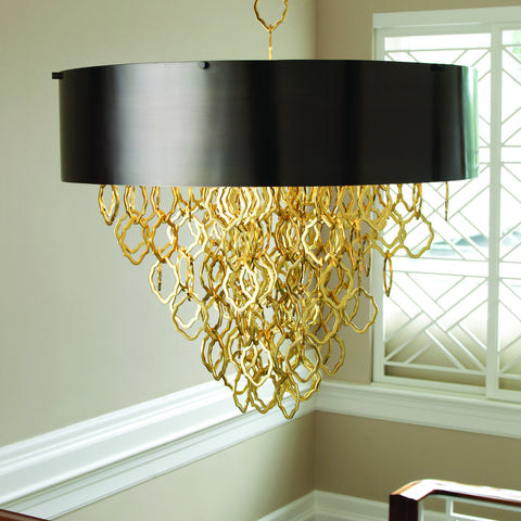 Chain Pendant-Brass/Bronze Finish