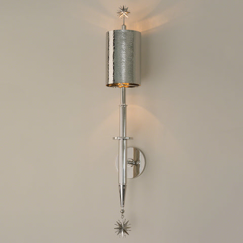 Star Arm Wall Sconce-Nickel