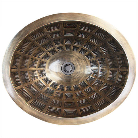 Oval Pantheon Sink