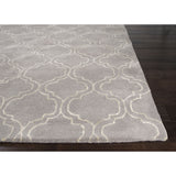 Baroque Collection Hampton Rug in Drizzle & Egret