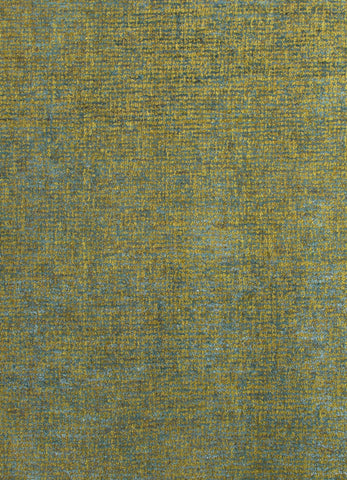 Britta Plus Rug in Dark Citron & Storm Blue