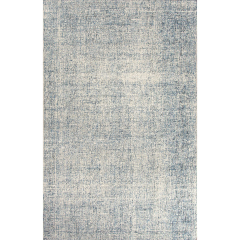 Britta Collection Oland Rug in Light Gray & Real Teal